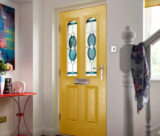 uPVC composite doors
