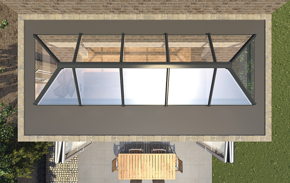 Conservatory Roofs Lantern 1